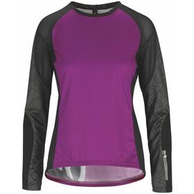 assos Trail Langærmet cykeltrøje Damer violet/sort